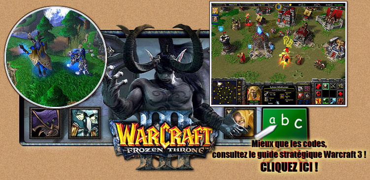 Guide des strat�gies pour warcraft 3 frozen throne (tutorial)