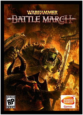 Warhammer battle march - box cover