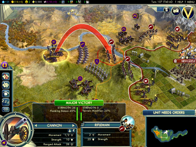 Civilization V ingame