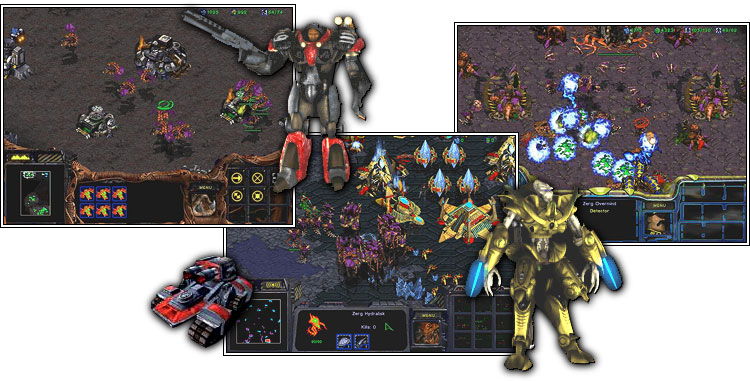 Starcraft screenshots