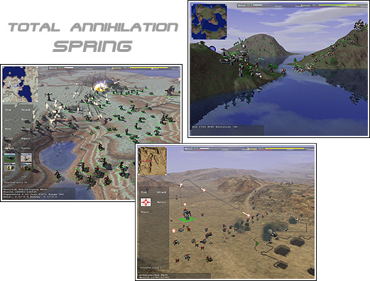 Total Annihilation spring screenshots